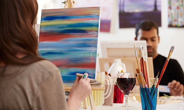Painting Workshop and Specialty Drinks for One or Two at PaintLounge (Up to 50% Off)